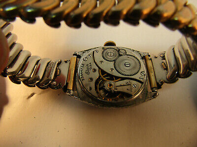 Three Unique Art Deco Elgin Watches From The 1920'S For Restoration Or Parts 9