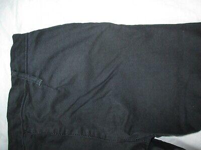 Calvin Klein Black Jeans Trousers Unusual Front Fastening Size 26 W28 L27 10