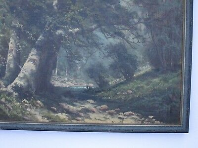 Antique 19Th To 20Th Century Painting Early California Landscape Vintage Mystery 6