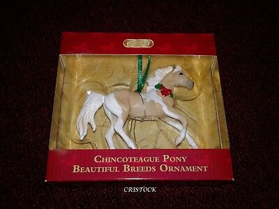 Breyer 2018 Chincoteague Pony Beautiful Breeds Ornament - New & Ready To Ship