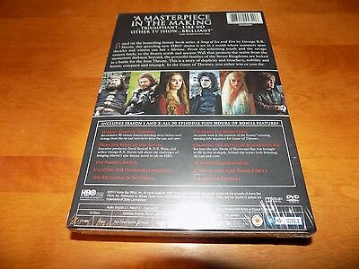 GAME OF THRONES Complete First & Second Seasons HBO SERIES 10-DISC DVD SET NEW 2