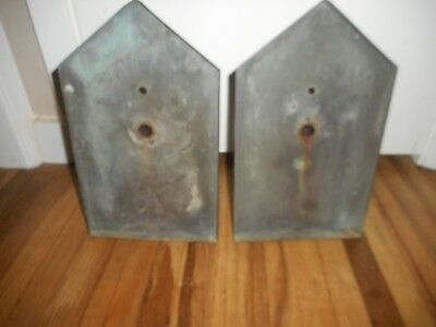 Antique ARTS & Crafts Bungalow MISSION Porch Hanging Light Fixture Sconces RARE 8