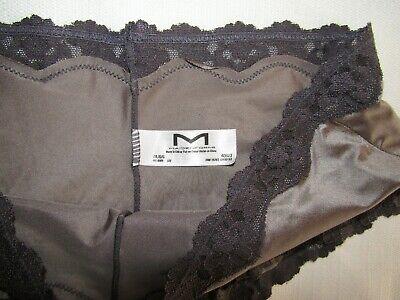 NWOT Maidenform 40823 Grey Boyshort Lace Hipster Sz LG 3