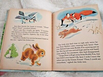 Vintage Children's Book 1975 The Littlest Christmas Tree By Thornton W. Burgess 8
