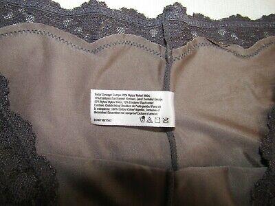 NWOT Maidenform 40823 Grey Boyshort Lace Hipster Sz LG 4