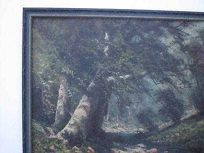 Antique 19Th To 20Th Century Painting Early California Landscape Vintage Mystery 4