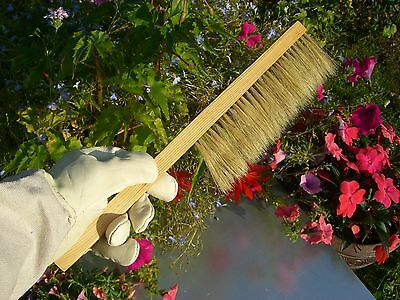 Large stainless steel smoker hive tool, and bee brush 4 • EUR 21,83