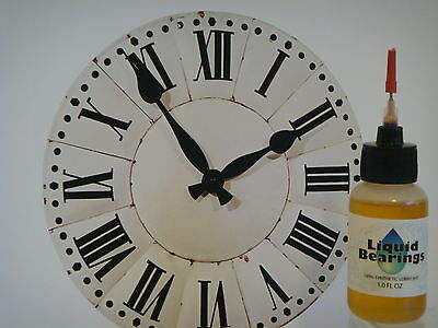 Liquid Bearings SUPERIOR 100%-synthetic oil for antique clocks, READ THIS!!! 2 • £7.75