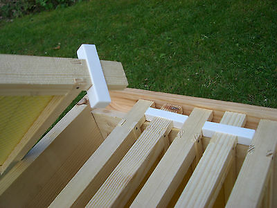 50 Wide beehive plastic frame ends / spacers 2