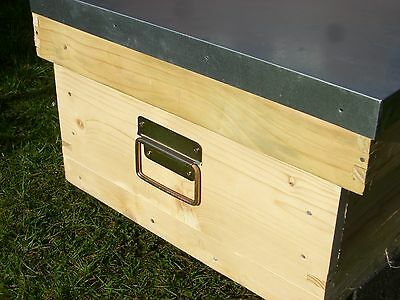 2 x (a pair) of Beekeeping Hive box handles with screws 5