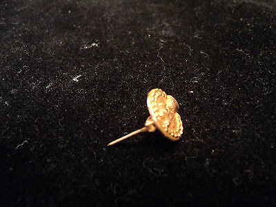 Vintage 10K Yellow Gold Cto Bell Telephone Company Charm Pin 3