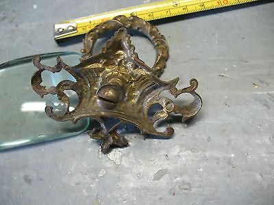 Art  Nouveau   Cast  Brass  Pull  3''  X  2 & 1/4'' Orig. Excellent 3