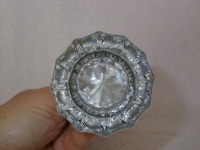 Antique Glass Door Knob Set:  Beautiful condition 3