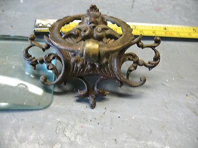 Art  Nouveau   Cast  Brass  Pull  3''  X  2 & 1/4'' Orig. Excellent 2