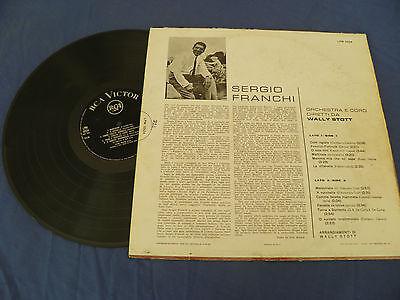 Sergio Franchi - Un Nuovo Grande Tenore - RARE RCA Italy 1962 LP LISTEN