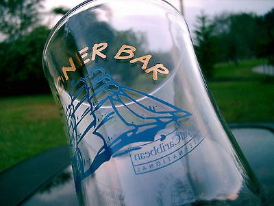 "Schooner Bar Royal Caribbean International Logo Drinking Glass 8.25"" 7"