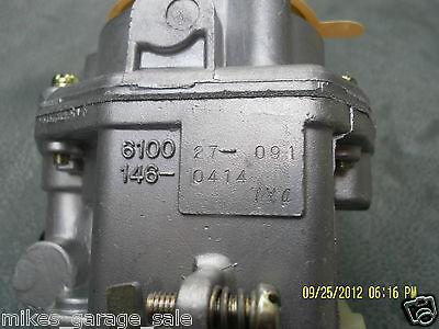 Carburetor Onan 146-0496 146-0414 Nikki 146-0479 Nos 9
