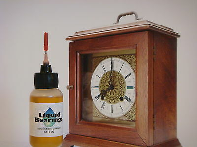 SUPERIOR 100%-synthetic lubrication for Chelsea or any clock, PLEASE READ !! 2