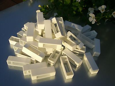 100 Narrow bee hive plastic frame ends / spacers 3
