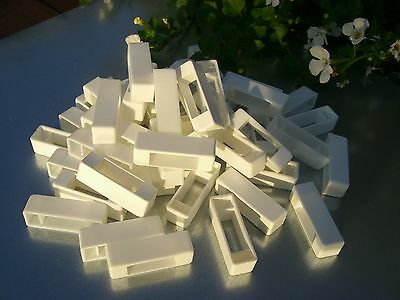 200 Narrow bee hive plastic frame ends / spacers 3