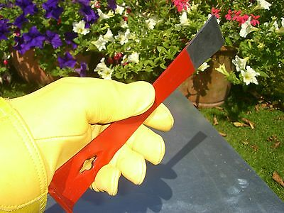 Beekeeping Stainless Steel Half-Red Hive Tool