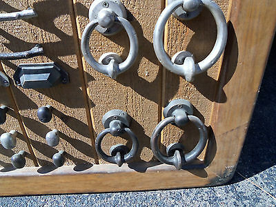 Old Emtek Bronze Door Knockers Drawer Pulls Drawer Knobs About 27 x 27 Inches 6