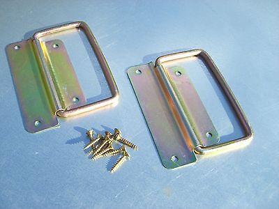 6 x (3 pairs) of Beekeeping Hive box handles with screws 3