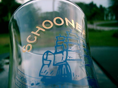 "Schooner Bar Royal Caribbean International Logo Drinking Glass 8.25"" 6"