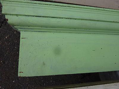 """c1900 INTERIOR window - DOOR pediment HEADERS mostly pine 42-46"""" long x 7""""h 8"""