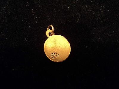 Vintage 1/10 10K Yellow Gold Cto Bell Telephone Company Charm Pendant 5