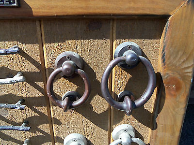 Old Emtek Bronze Door Knockers Drawer Pulls Drawer Knobs About 27 x 27 Inches