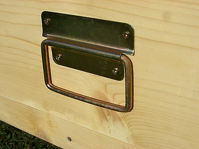 2 x (a pair) of Beekeeping Hive box handles with screws 2