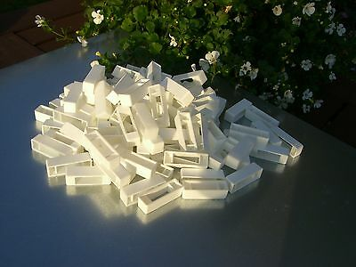 100 Narrow bee hive plastic frame ends / spacers 2
