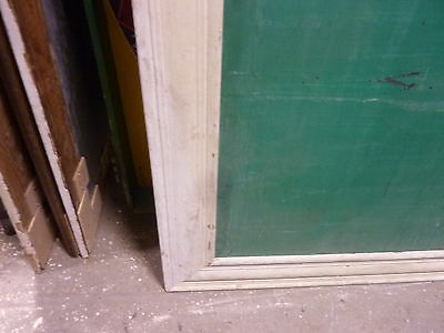 "early 20th century schoolhouse SLATE chalkboard FRAMED pine molding 57 x 45"" 4"