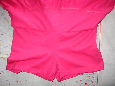 NEW GIRLS CLOTHES KYLIE M&Co RARA SKIRT SHORTS SKORT CERISE PINK AGE 13-14 YEARS 6