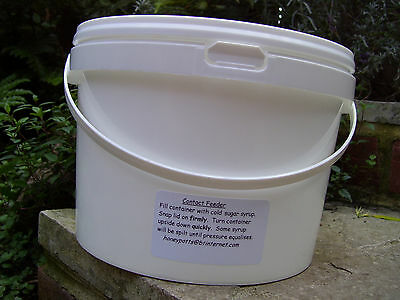 Four x 2.5lt Contact Feeders for Bees 3