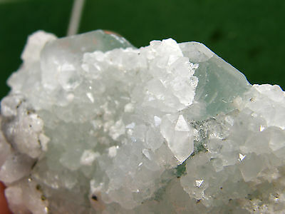 "Minerales "" Extraordinario Cristal De Fluorita+Quarzo De Marruecos  -  12A12 "". 2"