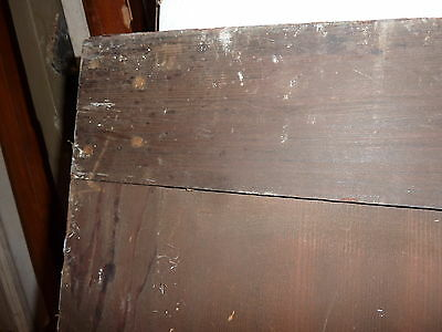 c1870-80 FOUR panel CABINET door EASTLAKE design PAINTED 54 x 21 x 7/8""