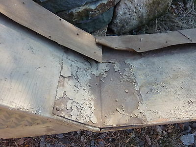 "c1850-60 VICTORIAN style pediment PITTSBURGH, PA hotel CHECKERED design 108x39"" 12"