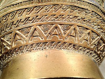 Antique Japanese Bronze Champleve Enamel Vase 2
