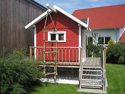 kinderspielhaus bauplan spielhaus stelzenhaus terrasse schwedenhaus garten haus eur 21 99. Black Bedroom Furniture Sets. Home Design Ideas