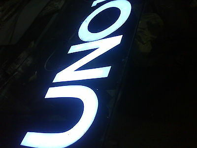 Custom size frontlit stainless steel Sign,Neon Signs,Channel letter led sign 2