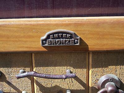 Old Emtek Bronze Door Knockers Drawer Pulls Drawer Knobs About 27 x 27 Inches 7