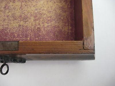 Rare Antique Civil War / Empire Period Jewelry Document Box-Gutta Percha-Burl 3 • £764.15