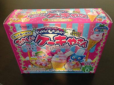 KRACIE POPIN COOKIN CAKE SHOP KIT. DIY Japanese candy cake.Happy Kitchen. Poppin