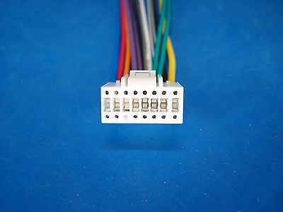 boss planet audio 16 pin radio wire harness stereo power plug back white 4 4 of 9 boss planet audio 16 pin radio wire harness stereo power plug back clip white
