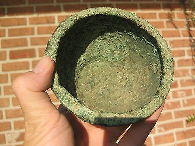 Ancient Phoenician(?) Bronze Bowl, Eastern Mediterranean Sea, shipwreck treasure