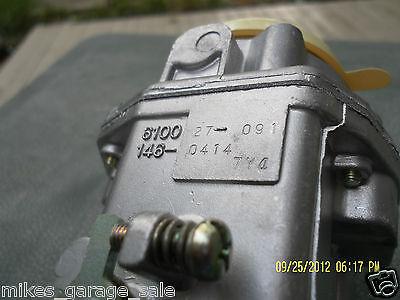 Carburetor Onan 146-0496 146-0414 Nikki 146-0479 Nos 2
