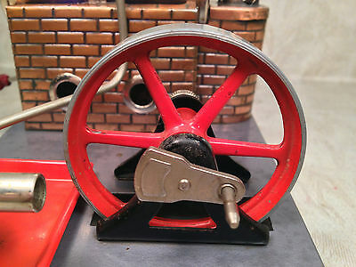 DBP Angem Steam Engine Model  Made in Germany Has Burner Tray Missing Piston Rod 7