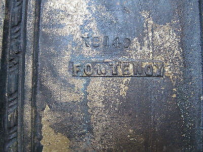 Antique Entrance Backplate 1(One) Solid Cast Brass Industrial Commercial Banks 5